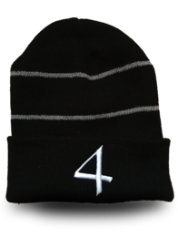 Black High-Vis Beanie WAS £10 NOW £5